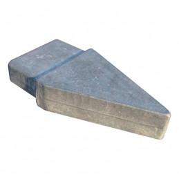 Pies de escalera de aluminio