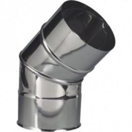 Curva Simples Inox 150 x 45º