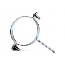 Abraçadeira Inox 80 c/espigão