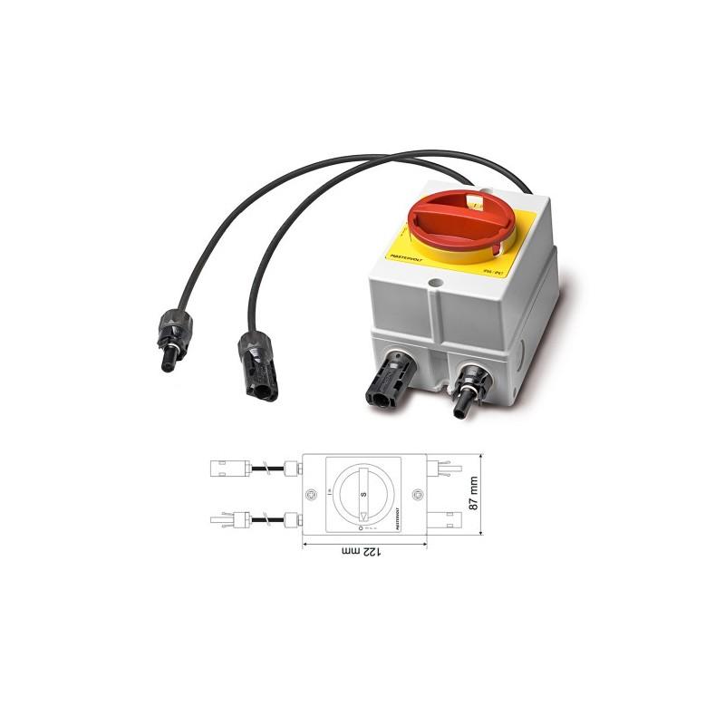 Interruptor DC - Coneções MC4